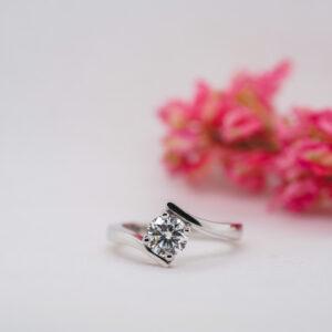 Eco Friendly Diamond Ring - Roma - Ethica Diamonds Cornwall UK