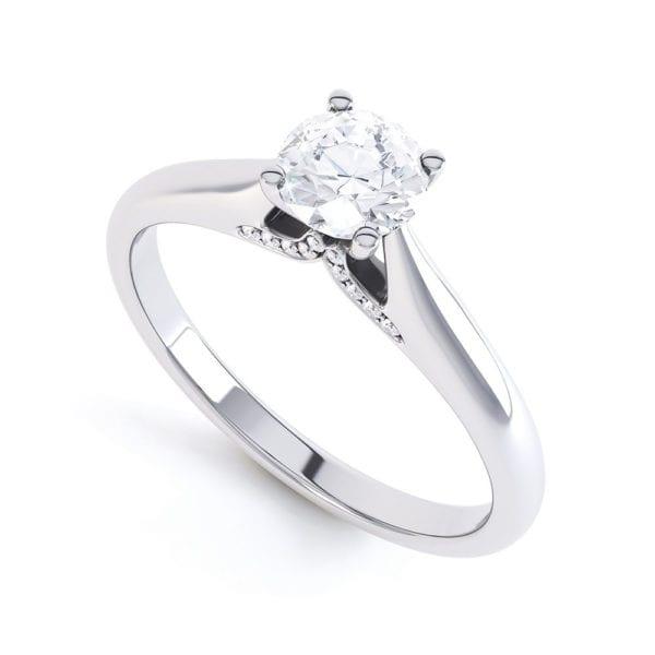 Ethical Diamond Engagement Ring - Rosalyn