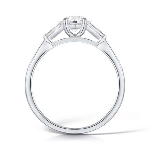Round Brilliant Ethica Diamond Ring | Scarlett | Ethica Diamonds UK