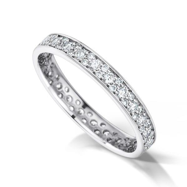 Lab Created Diamond Wedding Ring - Tiara