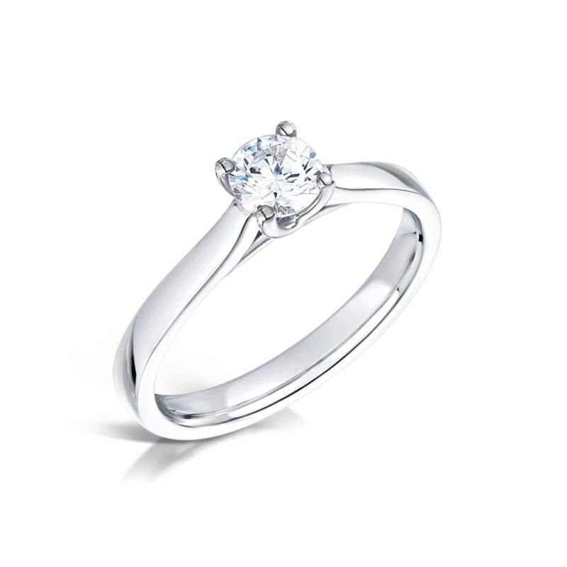 Eco Friendly Diamond Engagement Ring - Verbena - Ethica Diamonds UK