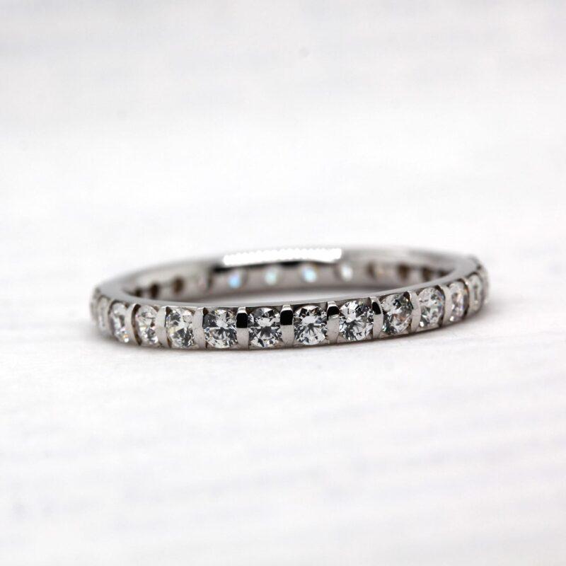 Lab Grown Diamond Wedding Band | Vere Full Set | Ethica Diamonds UK