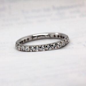 Lab Grown Diamond Wedding Band - Vere Full Set
