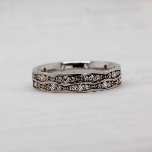 Conflict Free Diamond Wedding Ring - Amaryllis