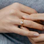 Oval Cut Lab Diamond Engagement Ring | Celia | Ethica Diamonds UK