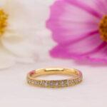 Ethical Grain Set Diamond Wedding Band - Charity Full Set 2.5mm - Ethica