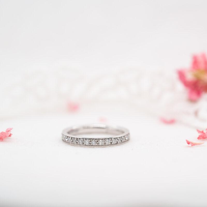 Lab Grown Diamond Wedding Band | Charity Full Set 2.0mm | Ethica UK