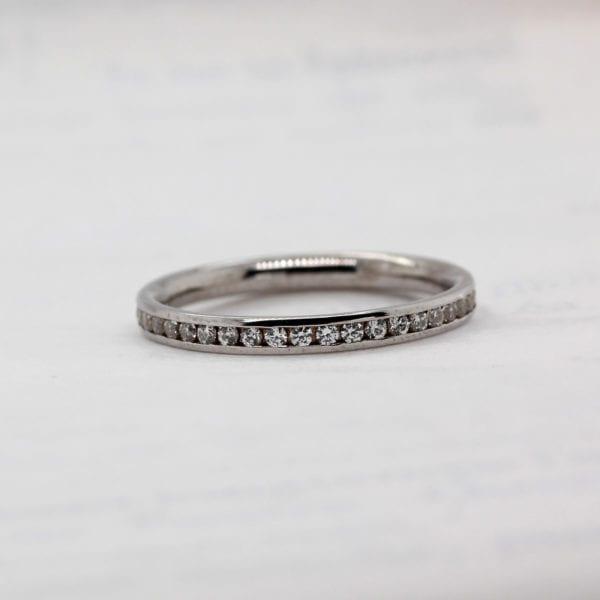 Ethically Sourced Wedding Ring - Corona Half Set 2.0mm
