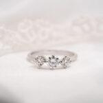 Man Made Diamond Trilogy Ring | Crissa | Ethica Diamonds Cornwall UK