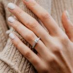 Eco Friendly Round Diamond Engagement Ring   Estella   Ethica Cornwall