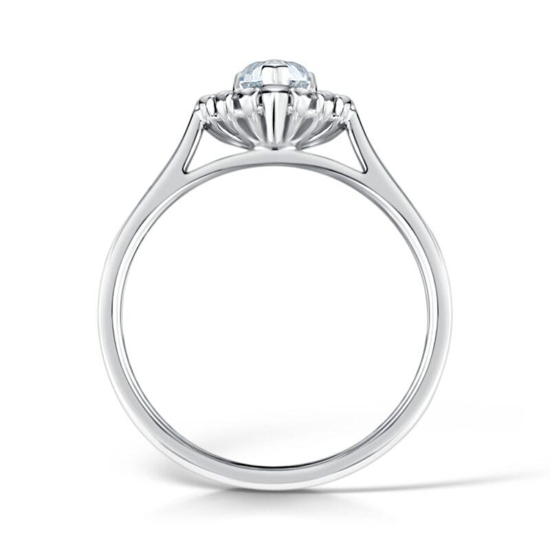 Pear Cut Diamond Ring | Hala | Ethica Diamonds Cornwall UK