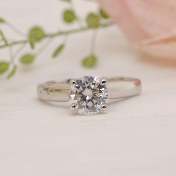 Earth Friendly Diamond Ring - Aurelia