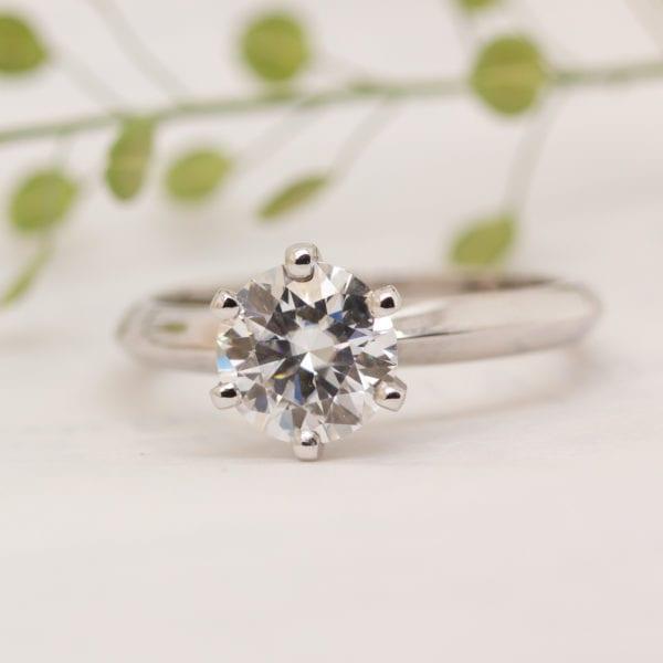 Sustainable Diamond Engagement Ring - Nola
