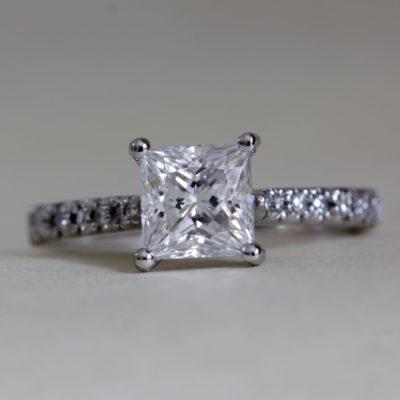 Ethical Diamond Engagement Ring - Nouveau