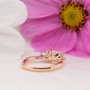 Ethical Princess Cut Diamond Ring - Victoria - Ethica Diamonds Cornwall