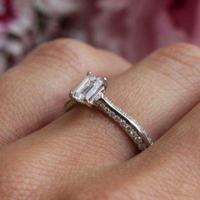 Ethical Diamond Engagement Ring - Zahira