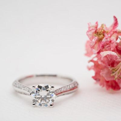Ethica Diamond Engagement Ring   Zahira   Ethica Diamonds Cornwall