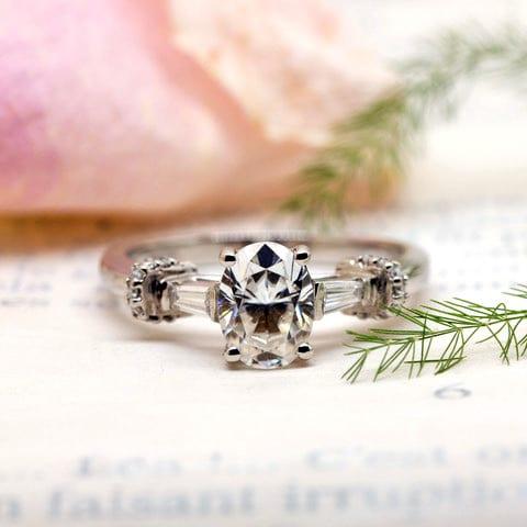Ethical diamond ring