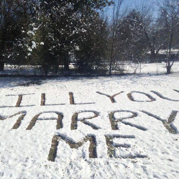 Winter Engagement Proposal Ideas