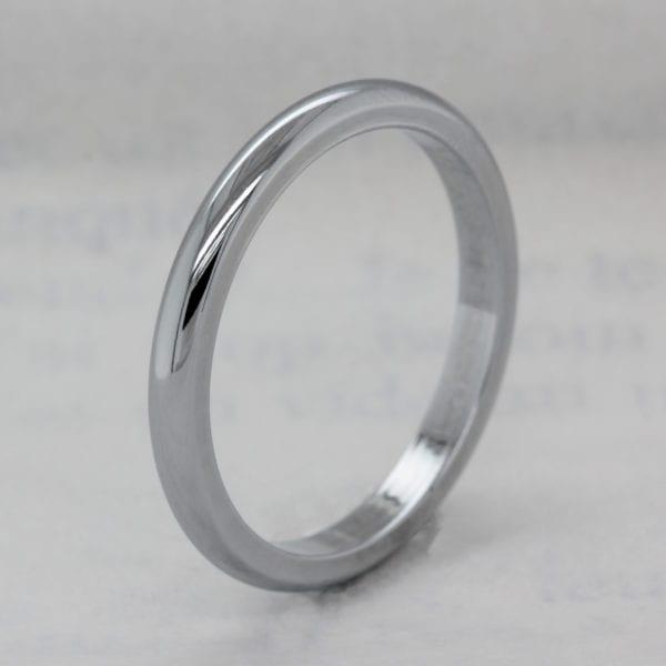 Ethical D Shape Wedding Ring