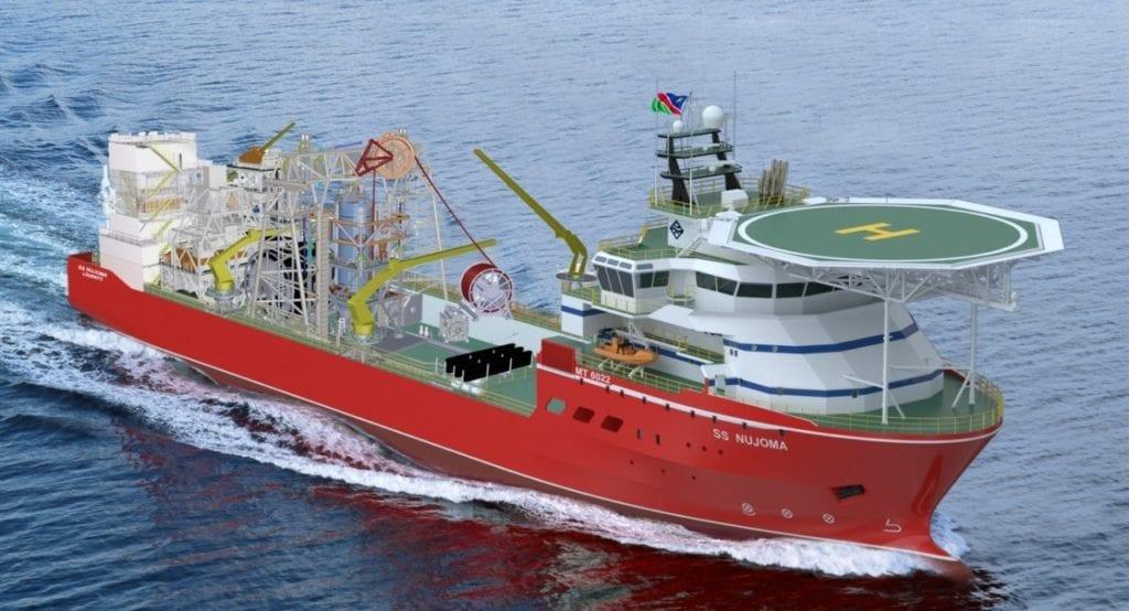 Diamond Mining Marine Vessel