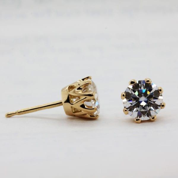 Earth Friendly Diamond Earrings - Diandra