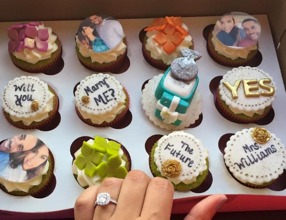 Cupcake Proposal Idea