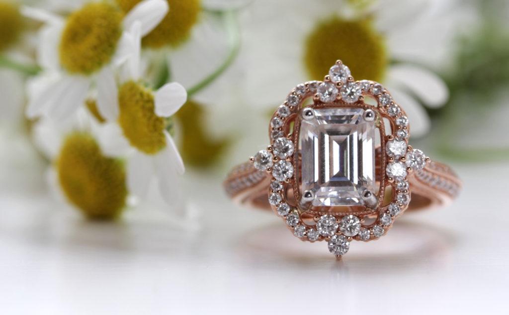 Bespoke ethical diamond engagement ring - Ethica Diamonds UK