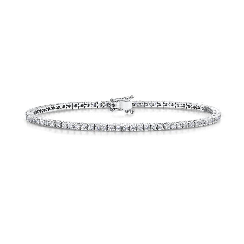 3.0 Carat Lab Created Ethical Tennis Bracelet - Ethica Diamonds - UK