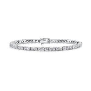 5.7 Carat Lab Created Ethical Tennis Bracelet - Ethica Diamonds - UK