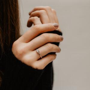 Lab-Grown Multi-Stone Engagement Ring | Abi | Ethica Diamonds