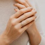 Ethical Trilogy Engagement Ring   Sabrina   Ethica Diamonds   UK
