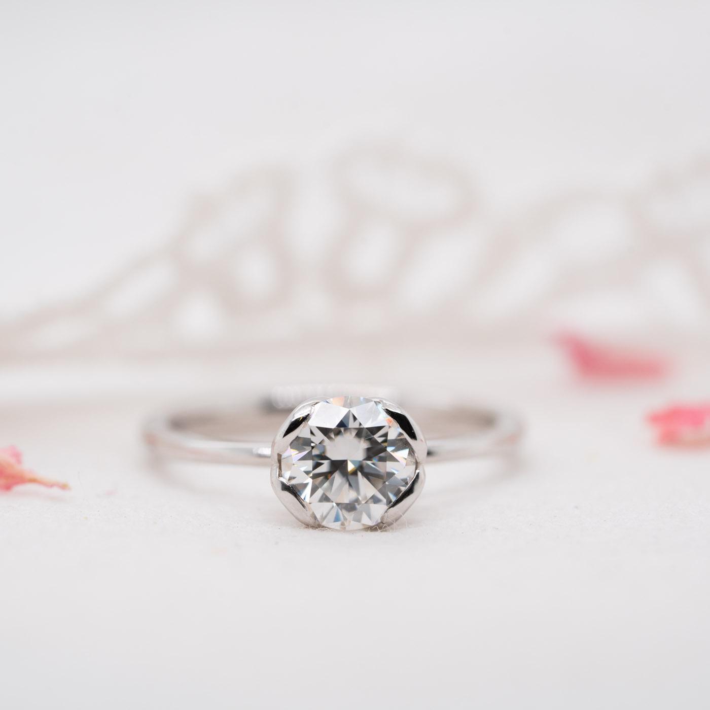 Ethically Sourced Diamond Engagement Ring | Callis | Ethica Diamonds
