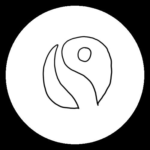 Sketch of the fairtrade icon