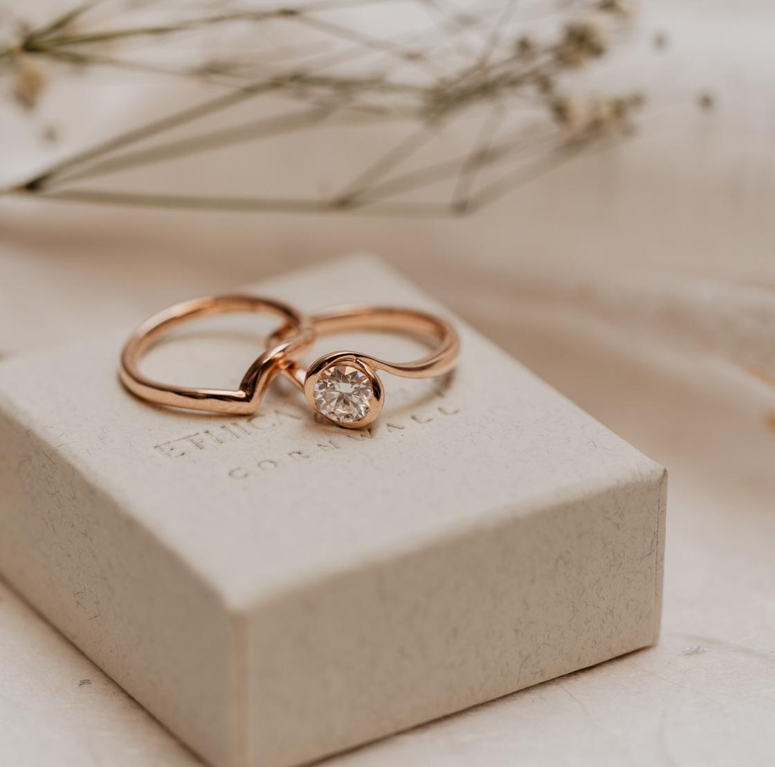 Rosebud Solitaire Engagement Ring   Kalika   Ethica Diamonds UK