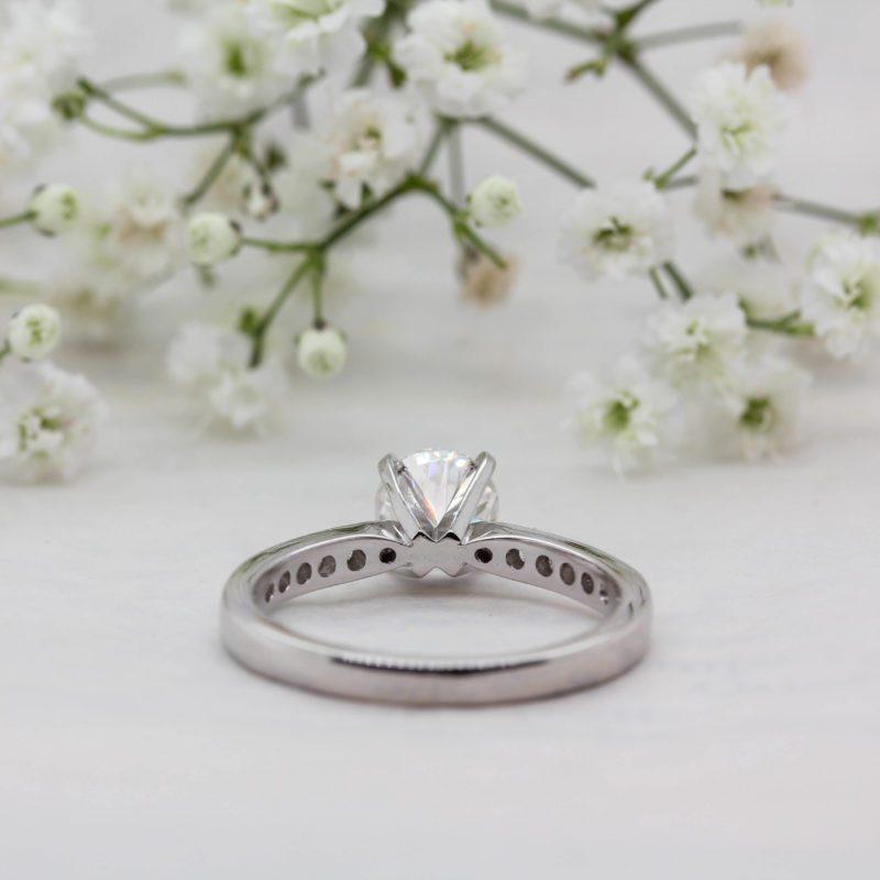 Unique Tiffany Inspired Engagement Ring   Alexa   Ethica Diamonds UK